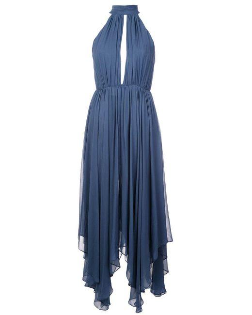 Fleur du Mal ホルターネック ドレス Blue