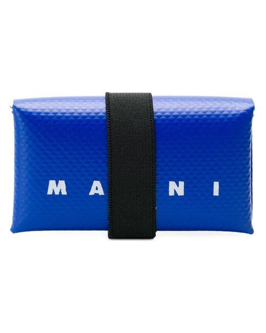 メンズ Marni カードケース Blue