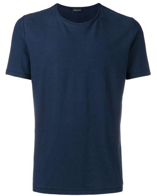 メンズ Roberto Collina Tシャツ Blue