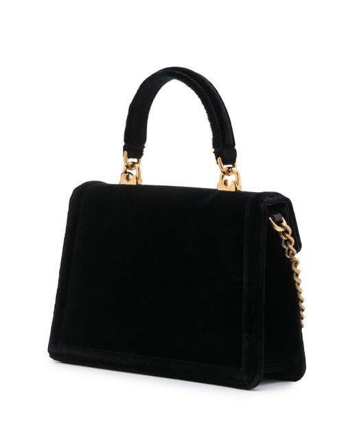 Dolce & Gabbana Devotion ハンドバッグ S Black