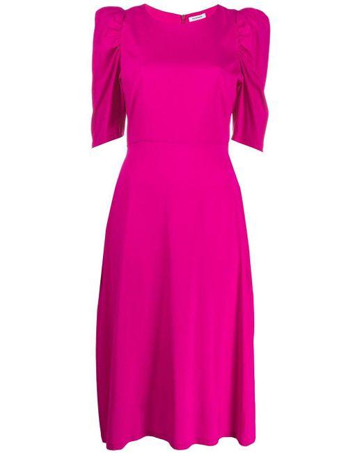 P.A.R.O.S.H. ギャザースリーブ ドレス Pink