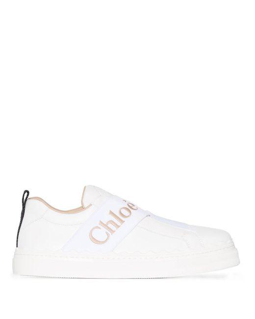 Chloé Lauren ストラップ スニーカー White