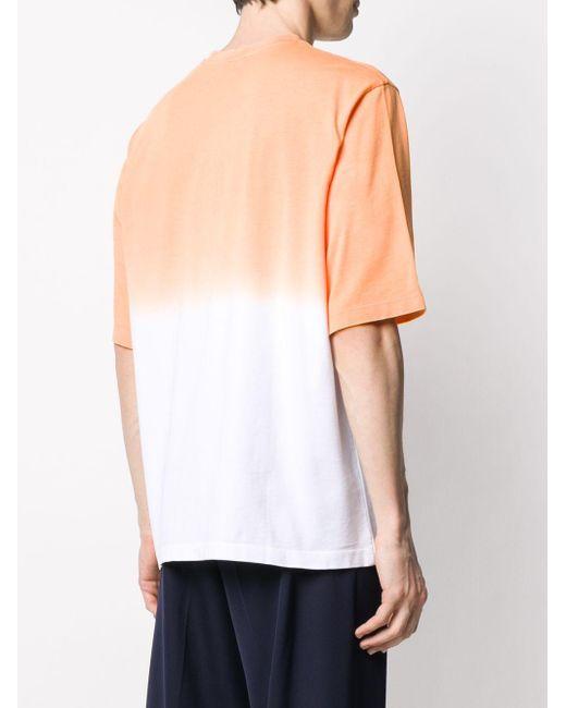 KENZO T-Shirt mit Tigerstickerei in Orange für Herren