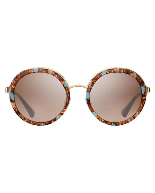 Prada Round Frame Sunglasses Multicolor