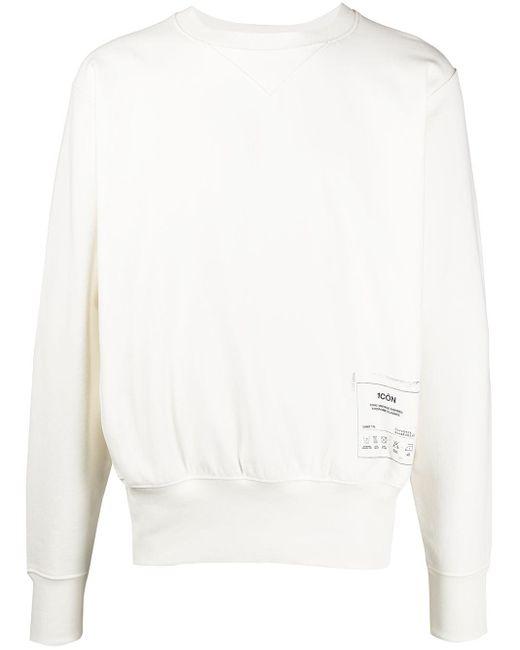 メンズ Maison Margiela プリント スウェットシャツ White