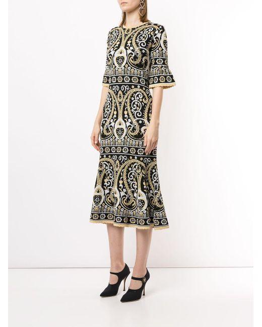 Alice McCALL Adore パターン ドレス Black