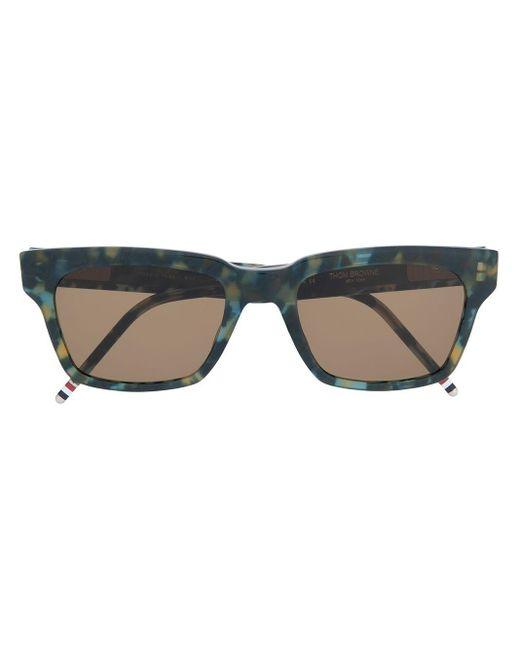 Thom Browne Tortoise Sunglasses Blue