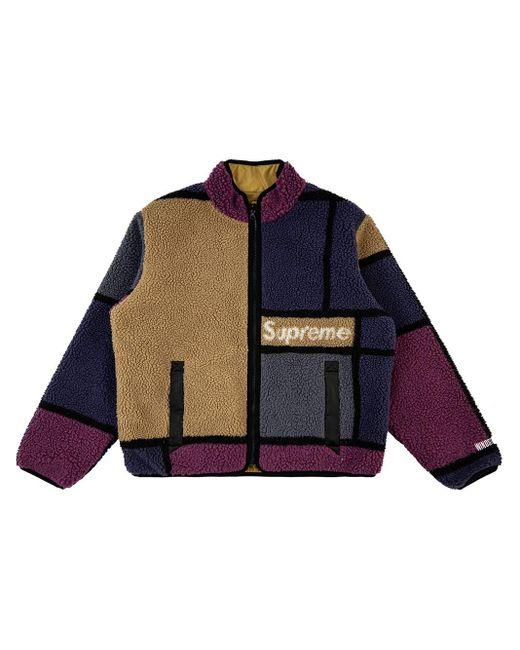 メンズ Supreme リバーシブル ジャケット Purple