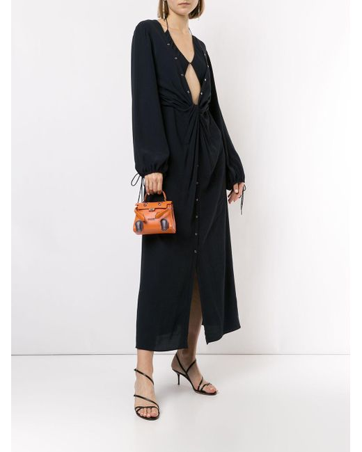 Hermès 2000 プレオウンド ケリー ドール ハンドバッグ Orange