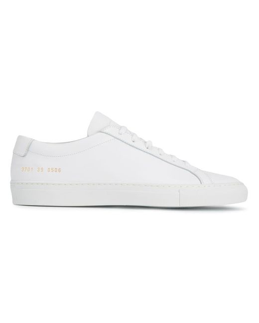 Common Projects レースアップ スニーカー White