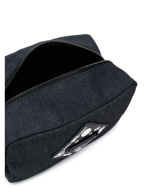 DIESEL Blue Pouchur Wash Bag for men