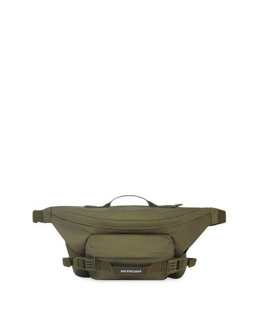 メンズ Balenciaga Army ベルトバッグ L Green