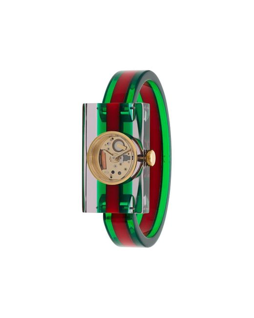 Gucci ヴィンテージウェブ 腕時計 Green