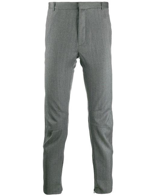 メンズ Lanvin パネル テーラードパンツ Gray
