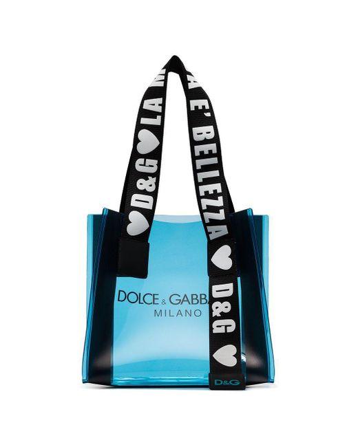 Dolce & Gabbana Street トートバッグ Blue