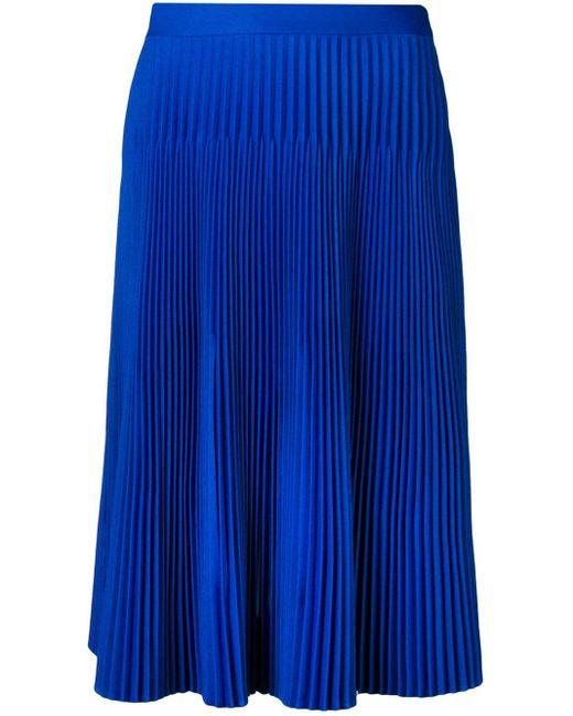 Maison Margiela プリーツスカート Blue