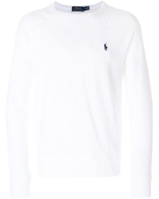 メンズ Polo Ralph Lauren スウェットシャツ White