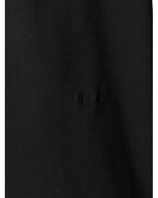 メンズ Joseph ラウンドネック Tシャツ Black