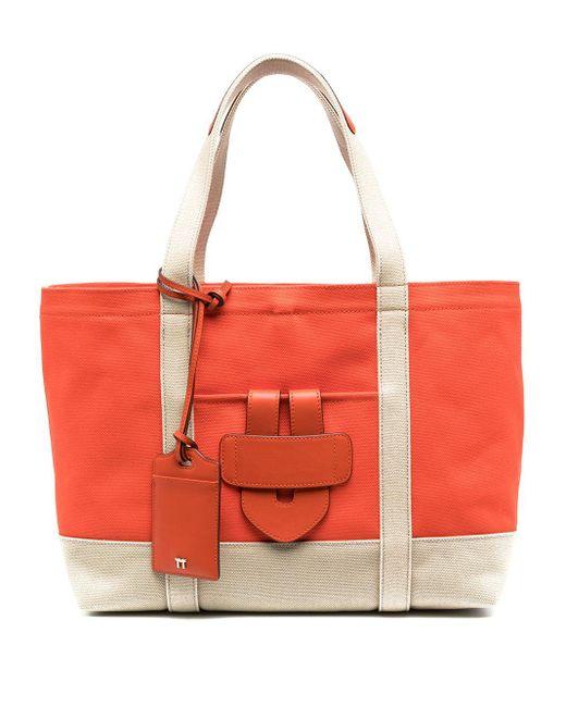 Tila March Simple ハンドバッグ M Orange