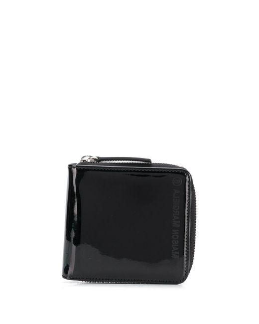 MM6 by Maison Martin Margiela Compact Zipped Wallet Black