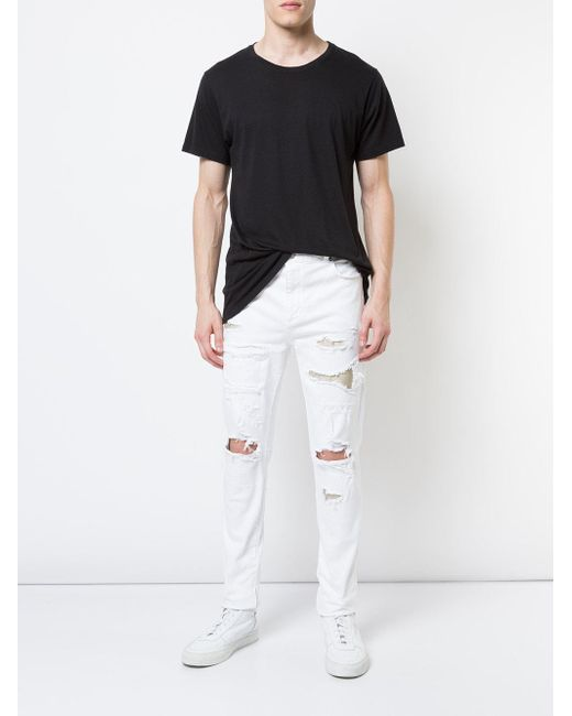 God's Masterful Children Denim Ripped Slim-fit Jeans in ...