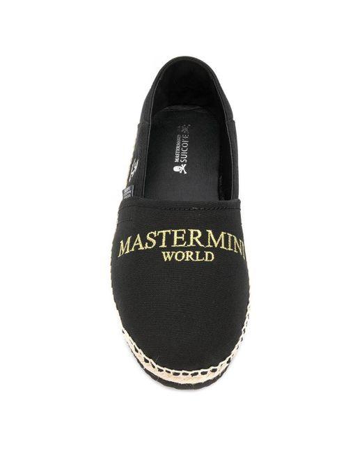 Эспадрильи С Вышитым Логотипом Mastermind Japan для него, цвет: Black