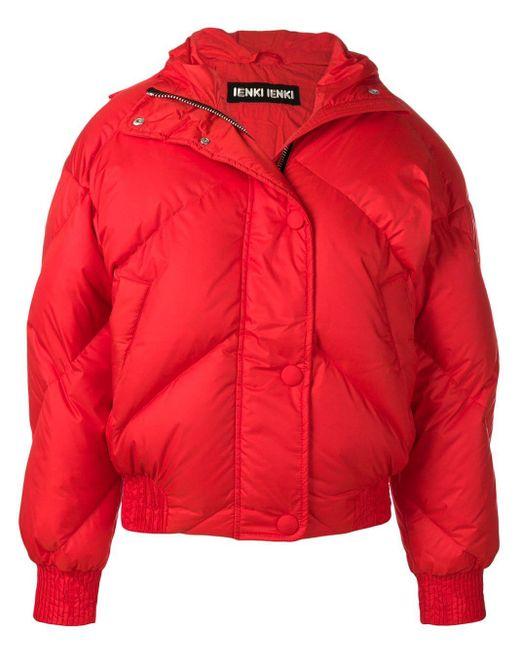 Ienki Ienki Loose Fitted Jacket Red