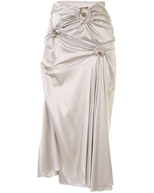 Christopher Esber Orbit シャーリング スカート Multicolor
