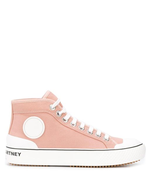 Stella McCartney ハイカットスニーカー Pink