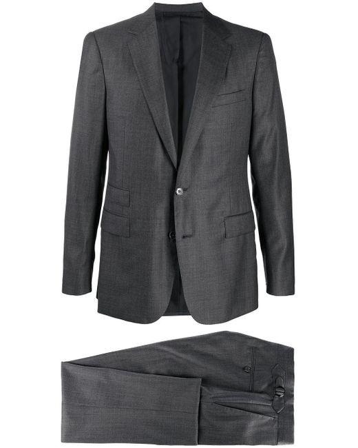 メンズ Ralph Lauren Purple Label Gregory ツーピース スーツ Gray