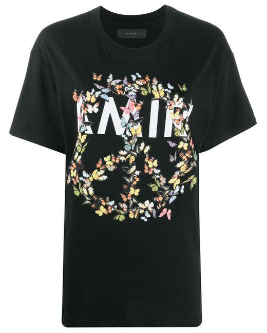 Amiri Peace And Love Tシャツ Black