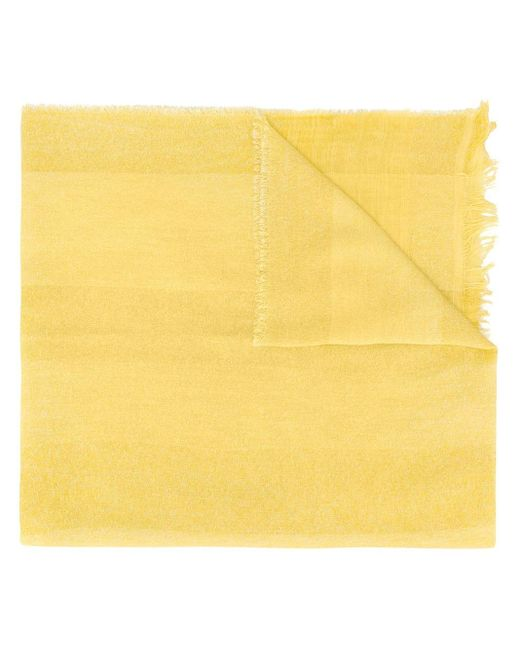 Fabiana Filippi ライトウェイト スカーフ Yellow