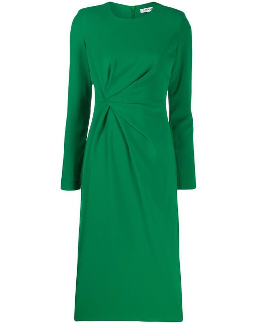 P.A.R.O.S.H. ギャザードレス Green