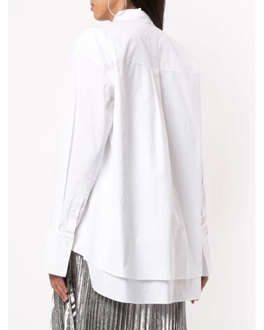 Juun.J White Klassisches Hemd