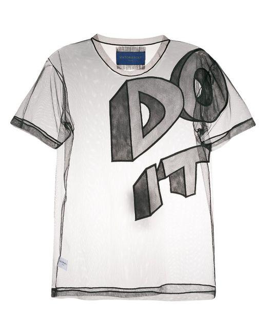Viktor & Rolf Black Do It T-shirt
