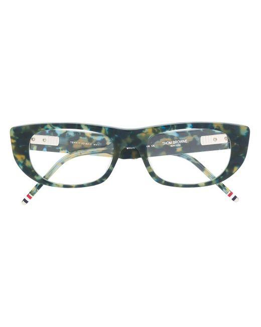 Thom Browne スクエア眼鏡フレーム Multicolor