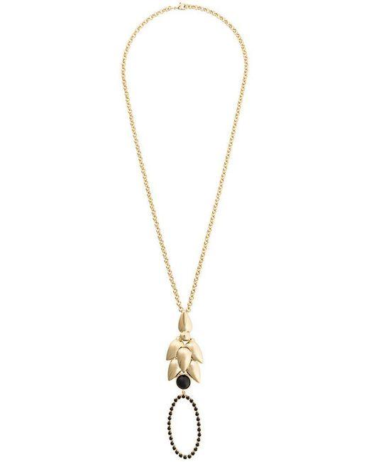 Isabel Marant - Metallic Long Pendant Necklace - Lyst