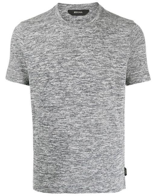 メンズ Z Zegna プリント Tシャツ Gray