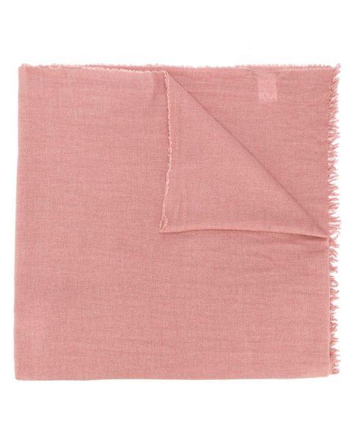 Fabiana Filippi フリンジエッジ スカーフ Pink