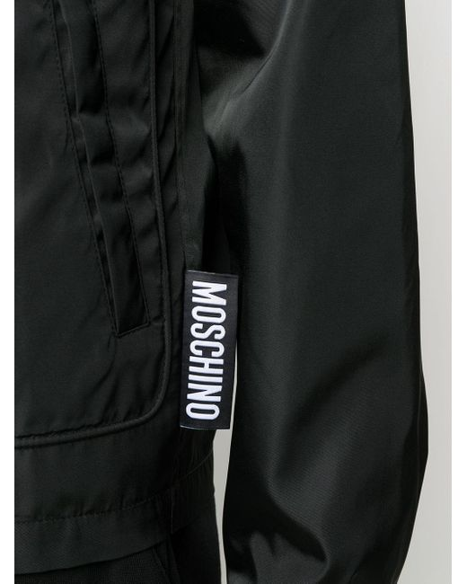 Куртка-рубашка На Молнии Moschino для него, цвет: Black