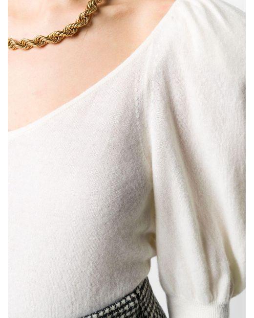 Джемпер С Пышными Рукавами FEDERICA TOSI, цвет: Multicolor