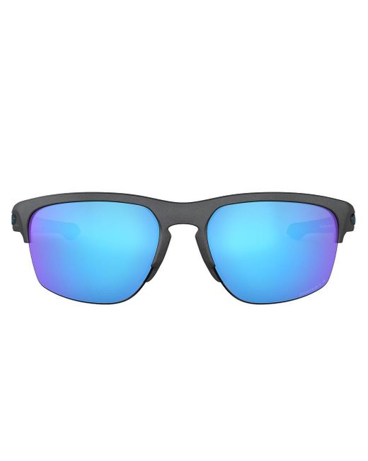 メンズ Oakley Frogskins Lite サングラス Blue