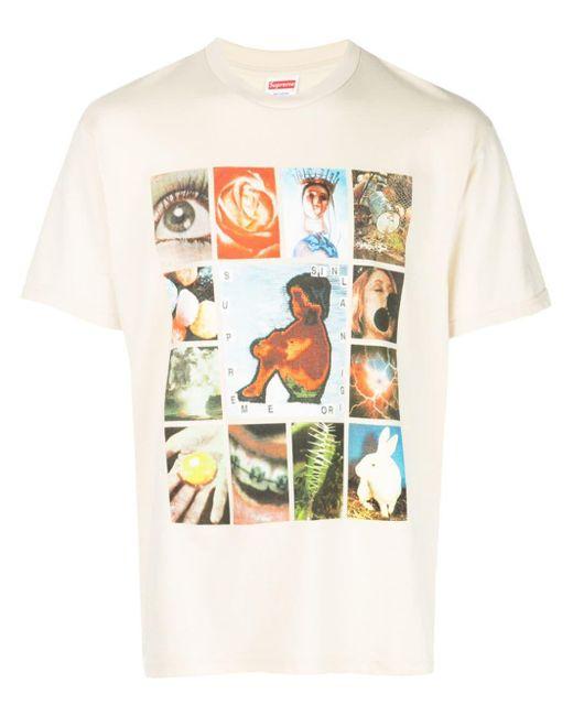 メンズ Supreme グラフィック Tシャツ Multicolor