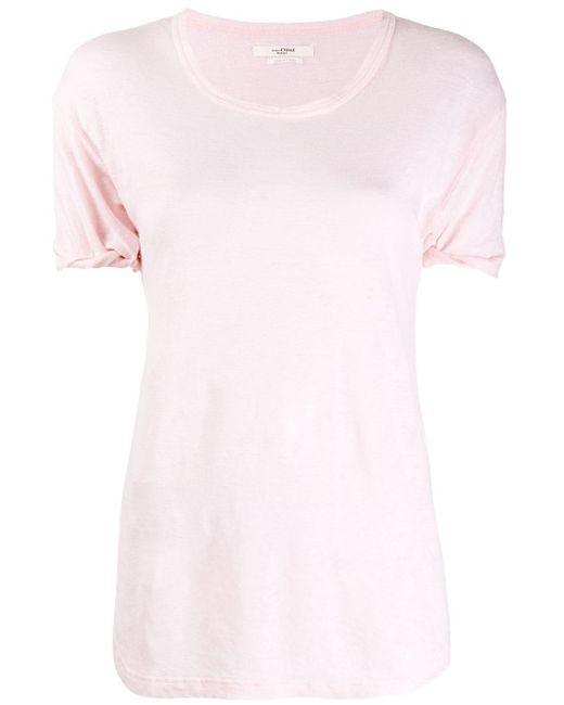 Étoile Isabel Marant Koldi Tシャツ Pink