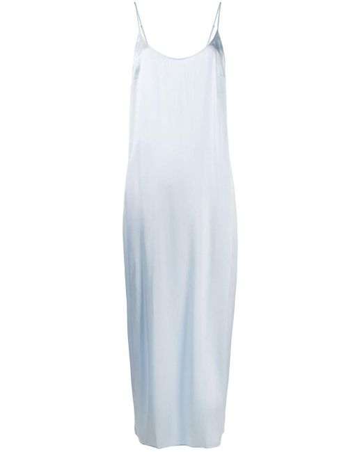 La Perla スパゲティストラップ ドレス Blue