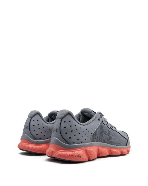 Under Armour Zapatillas Micro G Assert 6 de mujer de color gris