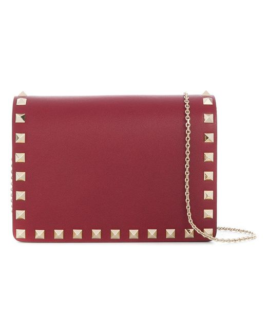 Valentino - Red Garavani Rockstud Crossbody Bag - Lyst