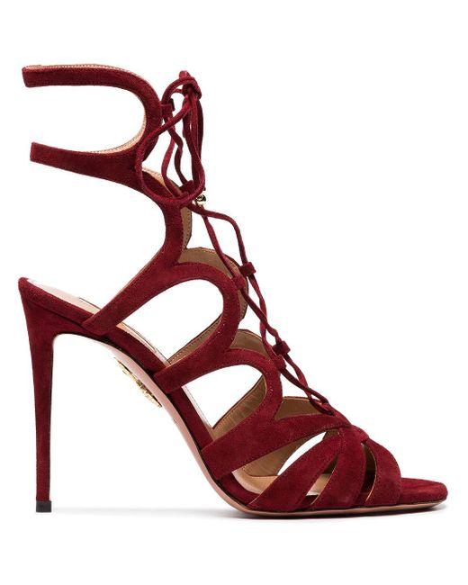 Босоножки 'love Affair 105' Aquazzura, цвет: Red
