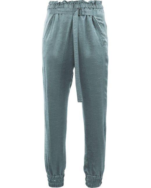 Ann Demeulemeester Adjustable Waist Trousers Gray