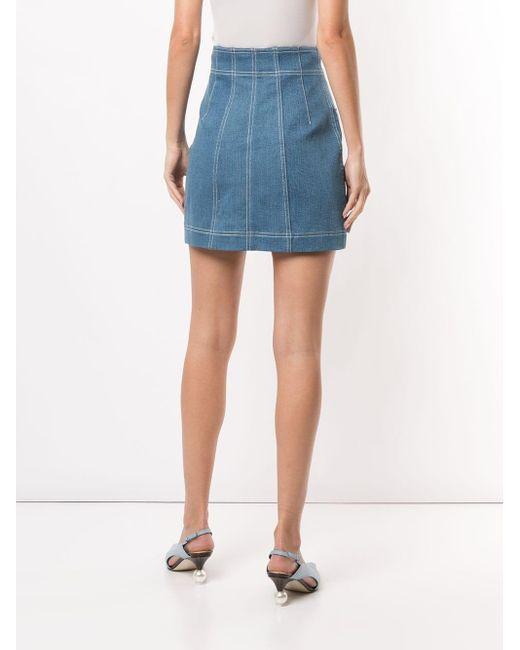 Alice McCALL Woodstock ミニスカート Blue